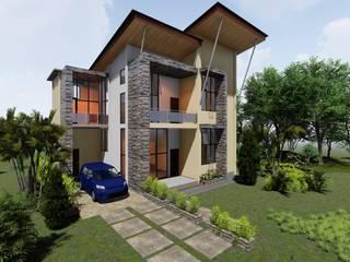 Desain Rumah 2 Lantai - Timika Oleh Adonara Design