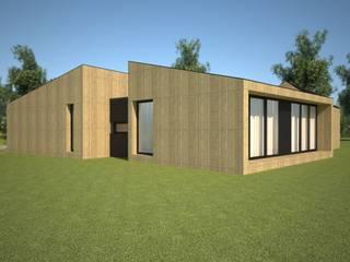 VILLAHOUSE: Casas pré-fabricadas  por Atelier 72 - Arquitetura, Lda