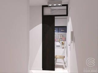 Modern study/office by Estudio Equilibrio Modern