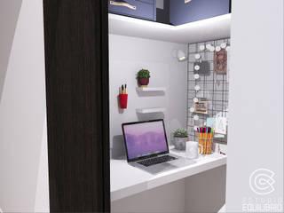 Рабочий кабинет в стиле модерн от Estudio Equilibrio Модерн