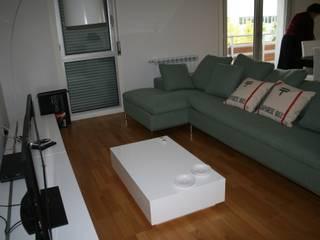 Apartamento Lisboa Salas de estar modernas por Atelier Ana Leonor Rocha Moderno