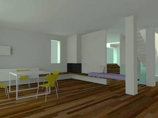 Soggiorno e area giochi: Soggiorno in stile  di Ing. Massimiliano Lusetti