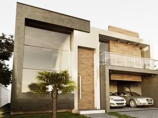 Projeto Casa Contemporânea OV: Condomínios  por Gelker Ribeiro Arquitetura | Arquiteto Rio de Janeiro