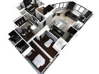삼성동 K씨 하우스: designforn의  거실