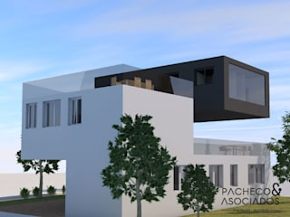Pacheco & Asociados Single family home Concrete Grey