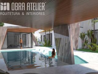 Projeto de Arquitetura & Interiores Chave-na-Mão por OBRA ATELIER - Arquitetura & Interiores
