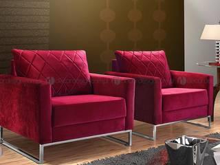 Decordesign Interiores Living roomSofas & armchairs Textile Red