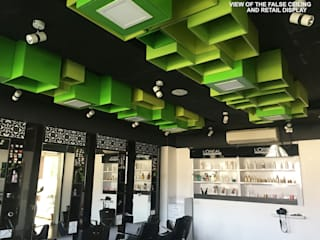 SUPERS SALON Modern clinics by KEYSTONE DESIGN STUDIOS Modern