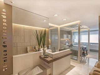 Projeto de Interiores Comercial: Clínica de Ortopedia com Personalidade Clínicas modernas por BG arquitetura | Projetos Comerciais Moderno