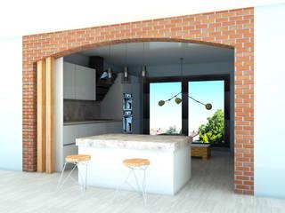 Modern kitchen by SKY İç Mimarlık & Mimarlık Tasarım Stüdyosu Modern