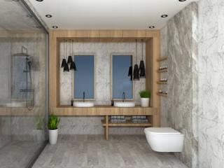 Modern bathroom by SKY İç Mimarlık & Mimarlık Tasarım Stüdyosu Modern