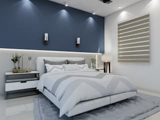 Bedroom by Cindy Castañeda, Modern