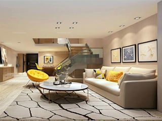Modern living room by Monoceros Interarch Solutions Modern