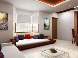 Living room by Monoceros Interarch Solutions,