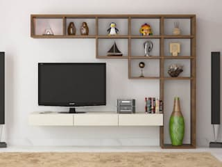 Modern Media Room by Monoceros Interarch Solutions Modern