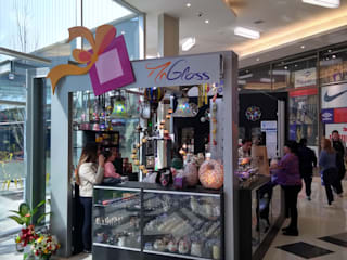 Shopping Centers minimalistas por Faerman Stands y Asoc S.R.L. - Arquitectos - Rosario Minimalista