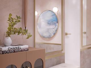 Проект в Штаб-квартире на Мосфильмовской: Коридор и прихожая в . Автор – Yurov Interiors,