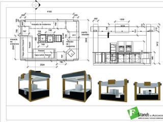 by Faerman Stands y Asoc S.R.L. - Arquitectos - Rosario Minimalist