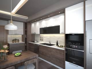 Projekty,  Kuchnia zaprojektowane przez Meteor Mimarlık & Tasarım