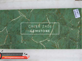 Height Stones Interior landscaping Stone Green