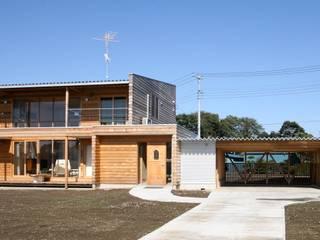 Projekty,  Dom z drewna zaprojektowane przez 株式会社高野設計工房