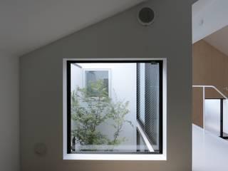 小さな和室 ミニマルデザインの 多目的室 の 石川淳建築設計事務所 ミニマル