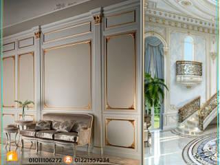 كاسل للإستشارات الهندسية وأعمال الديكور والتشطيبات العامة Balcones y terrazas de estilo clásico Caliza Verde