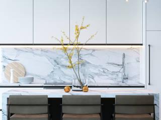 КП «Футуро Парк» 150М2, Эстетика: Кухни в . Автор – Loft&Home