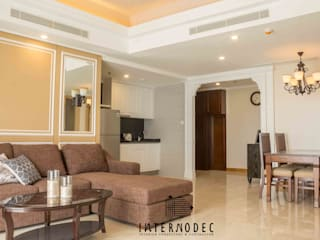 Classic & Luxurious Apartment Mrs. CS Ruang Keluarga Klasik Oleh Internodec Klasik