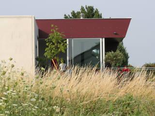 Haus am Weinberg - Einfamilienhaus Moderne Häuser von LOSTINARCHITECTURE Modern