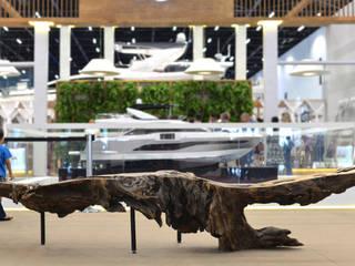 ArboREAL Móveis de Madeira Garden Furniture Parket Wood effect