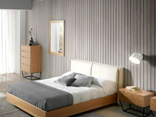 ANGEL CERDA BedroomBeds & headboards Wood Wood effect