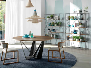 ANGEL CERDA Dining roomTables Wood Wood effect