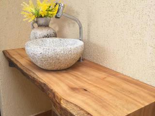ArboREAL Móveis de Madeira BathroomSinks Solid Wood Wood effect