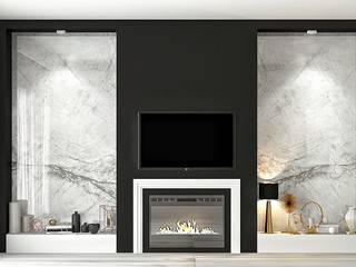 Mekan tasarım Modern Oturma Odası FA - Fehmi Akpınar İç Mimarlık Modern