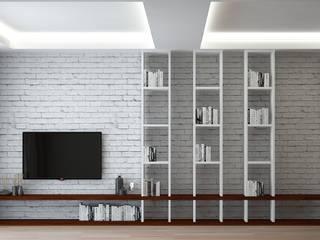 FA - Fehmi Akpınar İç Mimarlık  – Mekan tasarım:  tarz Oturma Odası