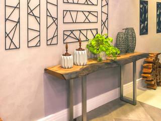 ArboREAL Móveis de Madeira Corridor, hallway & stairsAccessories & decoration Parket Wood effect