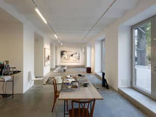 ANK - Ausstellungsraum und Studio Minimalistische Museen von LOSTINARCHITECTURE Minimalistisch