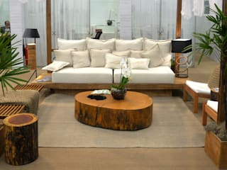 ArboREAL Móveis de Madeira Living roomAccessories & decoration Solid Wood Wood effect