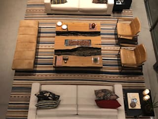 ArboREAL Móveis de Madeira Living roomFireplaces & accessories Parket Wood effect