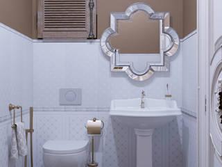 ЖК Грин Парк: Ванные комнаты в . Автор – MBM studio,