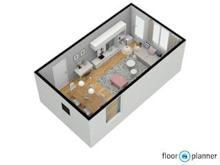 Sala Familiar Salas de jantar modernas por Atelier Decoração Interiores by Pippa & Paola Moderno