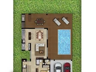 Casa Hudson Lote 9 de CM Arquitectura