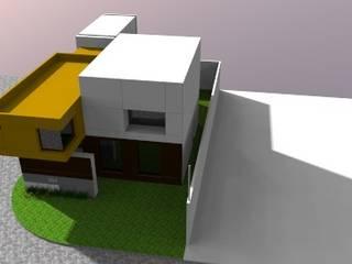 vista aerea del conjunto: Casas de estilo  por CONSTRUCCIONES DEL NOROESTE CURESKA S. DE RL. DE CV.
