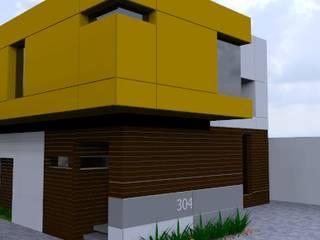 propuesta: Casas de estilo  por CONSTRUCCIONES DEL NOROESTE CURESKA S. DE RL. DE CV.