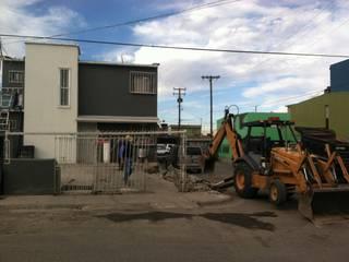 preparacion del terreno: Casas de estilo  por CONSTRUCCIONES DEL NOROESTE CURESKA S. DE RL. DE CV.