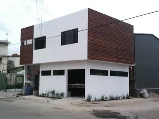 dbodegas - departamento: Casas de estilo  por CONSTRUCCIONES DEL NOROESTE CURESKA S. DE RL. DE CV.