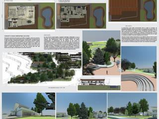 casa campestre los alpes : Casas campestres de estilo  por OBS DISEÑO & CONSTRUCCION.