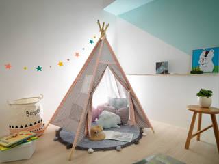 森木木:  嬰兒房/兒童房 by 寓子設計