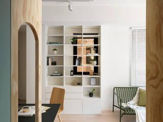 森木木:  走廊 & 玄關 by 寓子設計